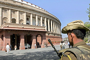 The Winter Session of the Parliament house (in the picture) was completely washed out over opposition's consistent demand for a JPC probe in 2G scam, and the government's firm denial to it