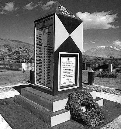 The Chushul memorial