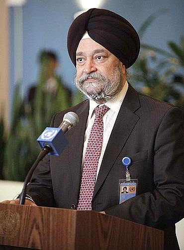 Indian ambassador to the United Nations Hardeep Puri