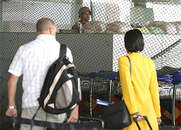 CISF is in charge of airport security in India