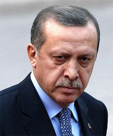 Prime Minister of Turkey Recep Tayyip Ergodan
