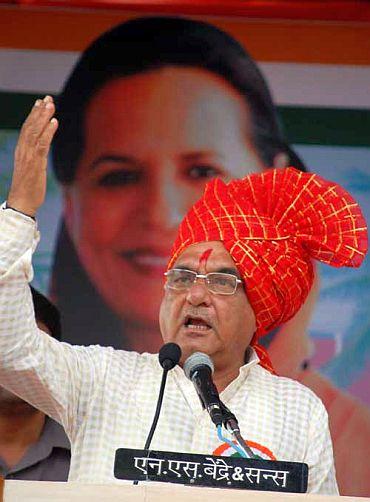 Haryana Chief Minister Bhupender Singh Hooda
