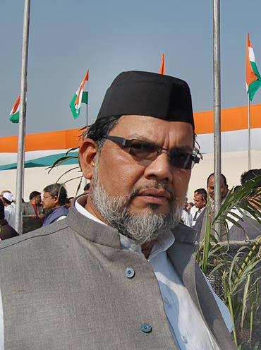 Congress worker Mohammad Arif