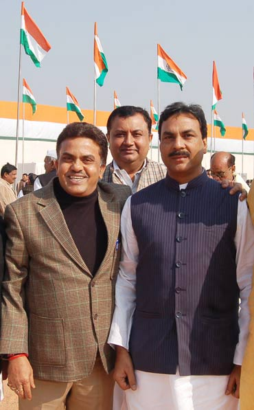 Mumbai North MP Sanjay Nirupam at the plenary