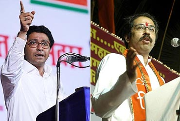 Raj and Uddhav Thackeray