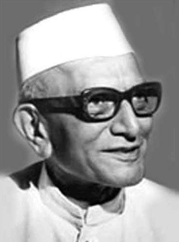 Former Prime Minister Morarji Desai