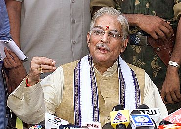 Senior BJP leader and PAC Chairman Murli Manohar Joshi