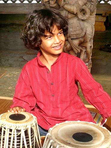 Keshava, the little tabla wonder boy