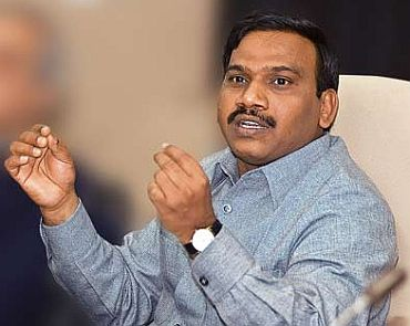2G scam: CBI grills Raja for 8 hours