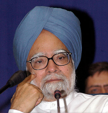 Dr Singh has lost the aura of an honest PM of a corrupt country