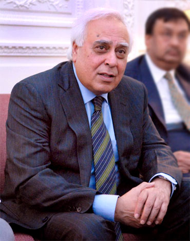 HRD Minister Kapil Sibal