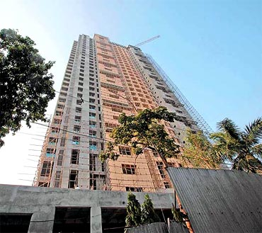 The Adarsh Housing Society in Mumbai was meant for families of Kargil martyrs but flats were alloted to high ranking defence officers, politicians and bureaucrats