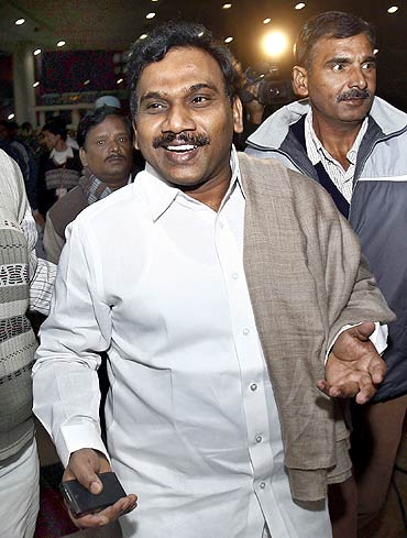 Former telecommunications minister Andimuthu Raja is at the centre of the 2G scam