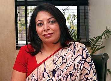Niira Radia, the lobbyist, whose phone conversations revealed the dirty underbelly of power