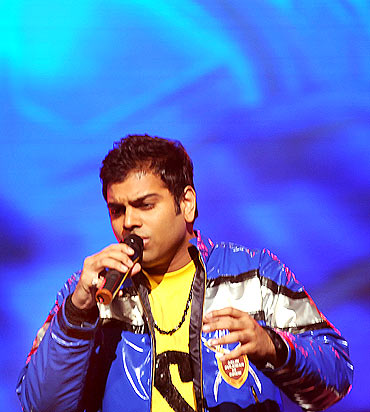 Sreeram Chandra, winner of Indian Idol Season 5, has already hit the high note