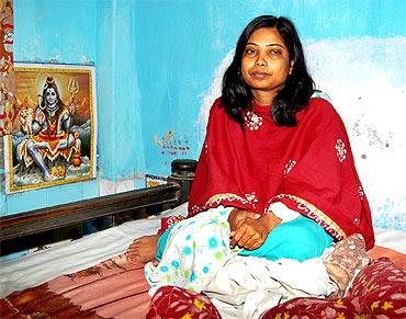 Sanjay's sister Rupa Ghosh