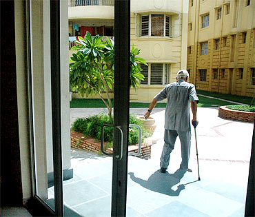 Retirement communities like Ashiana Utsav in Bhiwadi, outside Delhi, target affluent Indian seniors