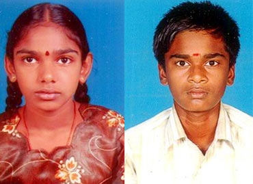 Vetrivel's children Ashok Kumar and Sindhu Bharathi