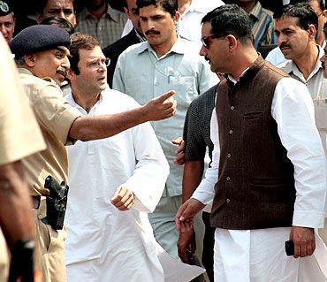 Rahul with Mumbai Police Commissioner Sivanandan