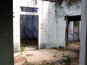 The slain LTTE's chief's house as it stands today