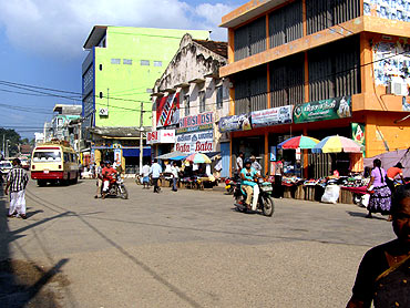 Downtown Jaffna today