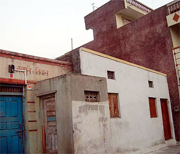 Zabiuddin Ansari's home in Gevrai's Swami Narayan Temple lane where he spent his childhood