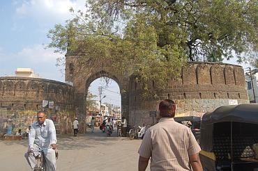 Beed's Hatthi Khana gate