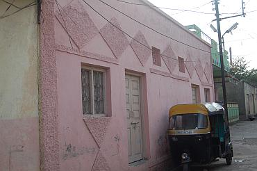 Syed Zakiuddin's home in Beed's Hathi Khana locality
