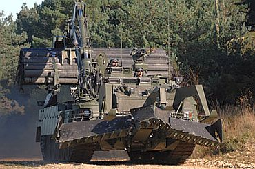 Image Uk Introduces Trojan Tank To Afghan War Rediff