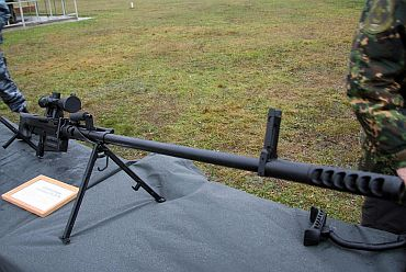 Foldable 12.7mm sniper rifle