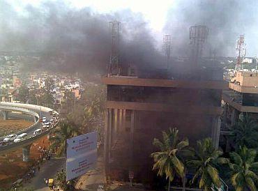 Panic not fire killed 9 at Bengaluru hospital
