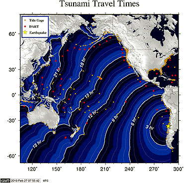 Image by the National Oceanic and Atmospheric Administration (NOAA) West Coast and Alaska Tsunami Centre