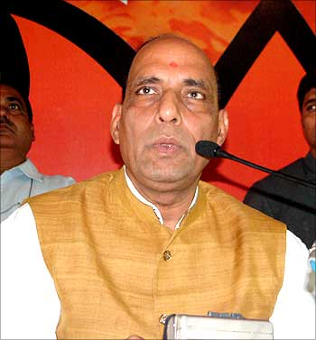Why should we be afraid of the Congress? :  Rajnath Singh, BJP Leader