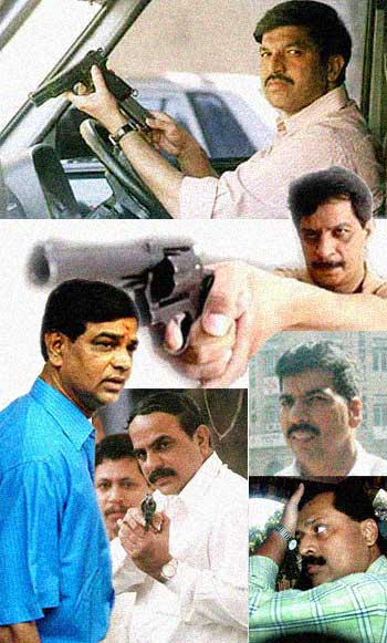Mumbai's prominent encounter cops