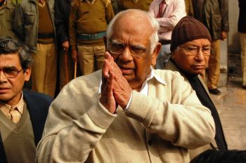 Former Lok Sabha speaker Somnath Chatterjee