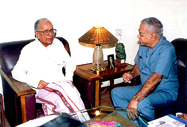 File photo of Basu with BS Raghavan