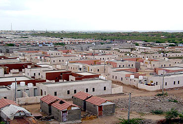 A redeveloped village in Kutch