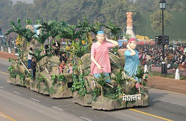 The tableau of Meghalaya