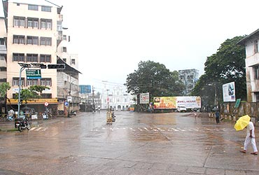 It was a quiet day at Mangalore too
