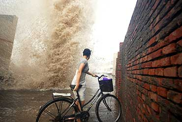 When giant waves shook up cities