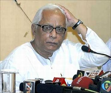 West Bengal Chief Minister Buddhadeb Bhattacharya