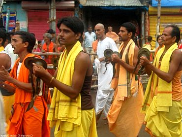 Thousands attend Lord Jagannath's rath yatra