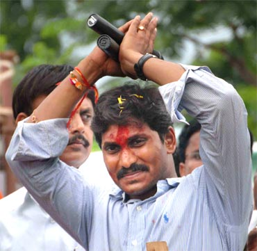 Congress MP Jagan Mohan Reddy