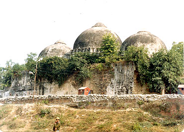 Ayodhya Title Suit The Story So Far Rediff Com India News