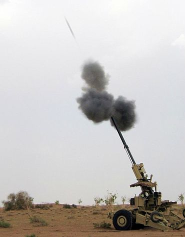 India has the skills for building a 155-mm artillery gun