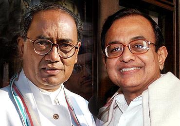 Digvijay Singh and Chidambaram