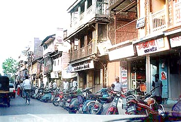 A languid Pune street. Don't look, but the city is changing fast