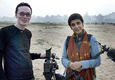 Film maker Tenzing Sonam and Ritu Sarin