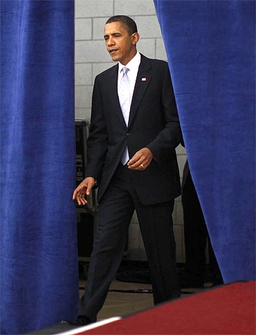 US President Barack Obama