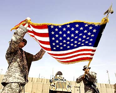 US soldiers in Kandahar, Afghanistan.
